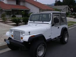 white convertible jeep 1989 jeep wrangler overview cargurus