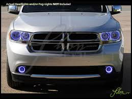 13 dodge durango 11 13 dodge durango led dual color halo rings headlights bulbs