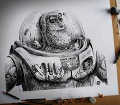 this drawing of buzz lightyear trypophobia