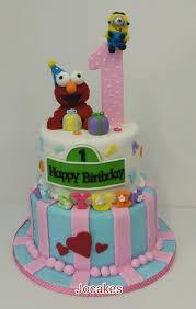 elmo cake jocakes