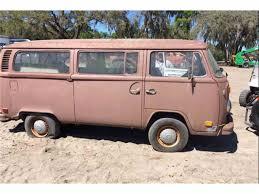 pink volkswagen van 1973 volkswagen bus for sale classiccars com cc 970111
