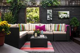outdoor living having fun with stripes lamps plus