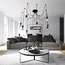 Living Room Pendant Lighting Lightinthebox Vintage Edison Ajustable Diy Ceiling Spider