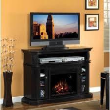 Electric Fireplace Media Center Hazelwood Electric Fireplace Media Console W Acrylic Ice
