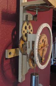 alan u0027s wooden gear clock page