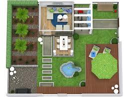 backyard plan 3d site plans roomsketcher