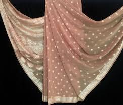 sari silk chiffon fabric indian sari sarong fabric scarf 5 yards