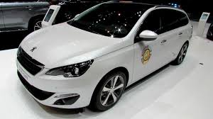 peugeot car 2014 2015 peugeot 308 sw diesel exterior and interior walkaround