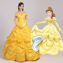 Belle Halloween Costume Women Popular Princess Belle Costume Buy Cheap Princess