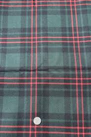 plaid home decor fabric vintage wool fabric forest green red tartan plaid fabric for