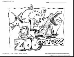 good zoo coloring pages with zoo animals coloring pages