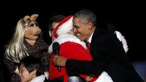 the national christmas tree lighting the obama diary