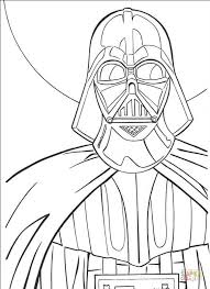 darth vader coloring page free printable coloring pages