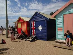 colorful beach houses brighton beach melbourne picture of