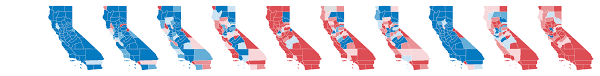 california blue after decades of republican victories here s how california