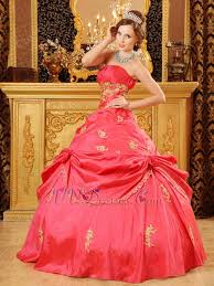 coral pink quinceanera dresses pink girl quinceanera dress with golden applique