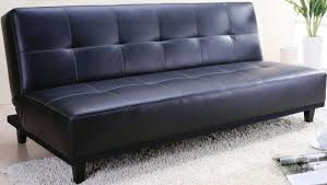 Black Sofa Bed Amazing Black Leather Sofa Bed With Advantages Of A Blue Loveseat