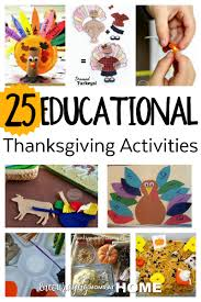 learning activities for thanksgiving school days