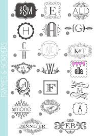 monogram websites monograms made easy fonts frames borders and i finally found