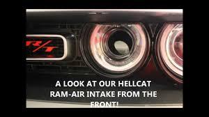 Dodge Challenger Engine Swap - 2015 dodge challenger hellcat ram air intake conversion