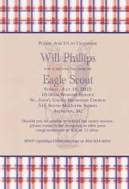 eagle scout congratulations card eagle scout recognition invitation new covenant school