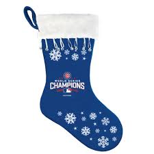 mlb 2016 world series champions christmas stocking u2013 chicago cubs