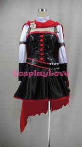 Mcr Halloween Costume Rwby Volume 4 Ruby Rose Cosplay Costume Halloween Christmas