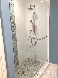 Towel Bar For Glass Shower Door Frameless Enclosures Florida Shower Doors Manufacturer