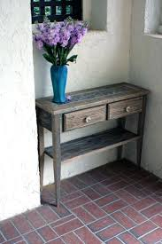 entry table ideas good coloring small table by front door entry gray console to put