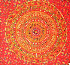 Cute Wall Tapestry Hippie Tapestry Cute Mandala Tapestries Dorm Room Wall Tapestry