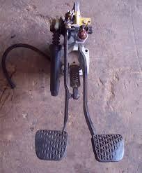 clutch u0026 brake pedal assembly for manual transmission w123