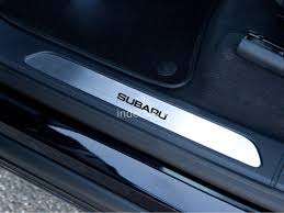 subaru windshield decal 1 x subaru sticker for windshield or back window black