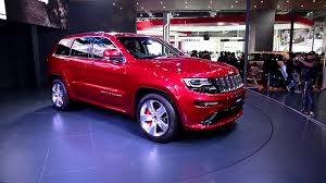 first jeep grand cherokee watch first look at jeep grand cherokee srt at auto expo 2016