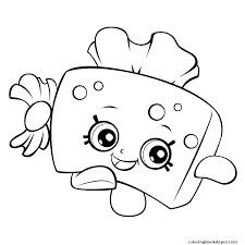 Tissue Box Shopkins Season 5 Coloring Pages Box Coloring Pages