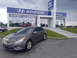 siege hyundai hyundai magog used 2012 hyundai sonata for sale in magog