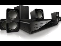Buy Philips Hts5520 94 5 1 Dvd Home Theatre System Online At Best - home teather 5 1 blu ray 3d philips htb3560 unboxing youtube
