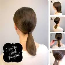 easy indian hairstyles for school 5 one minute basic ponytail hairstyles tutorial for daily style