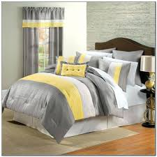 Grey And Yellow Bedroom by Articles With Yellow And Grey Bedding King Size Tag Gorgeous Grey