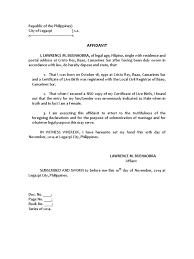 P L Spreadsheet Template Doc 400518 How To Write A Legal Affidavit U2013 Sample Affidavit
