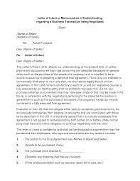 Sample Letter Of Intent Business Purchase by Sample Petition Letter For Memorandum Of Understanding