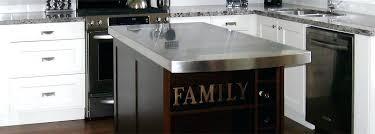 kitchen nightmares island stainless steel countertop installation stainless steel kitchen