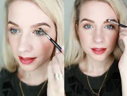 how to achieve the perfect bold brow u2013 a beautiful mess
