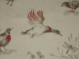 Curtain Upholstery Fabrics Curtain Fabric Upholstery Fabric Pheasant U0026 Game Birds