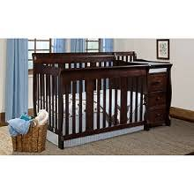 shop matching crib and changing table combo with adjustable and