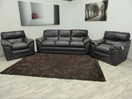 Bellini Leather Sofa Exclusive Bellini 3 Seater And 2 Chairs Top Grain Full Italian