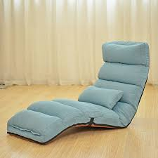 Folding Chaise Lounge Chair Floor Folding Chaise Lounge Chair Modern Fashion 6 Color Living