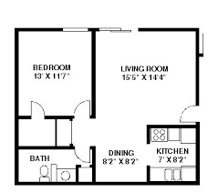 One Bedroom Apartments Nyc by 33 Best Floorplans Images On Pinterest Apartment Floor Plans