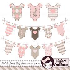 Baby Flag Pendent Clipart Baby Banner Pencil And In Color Pendent Clipart