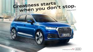 audi ads igor panitz launch campaign for the audi q7 tmar inc