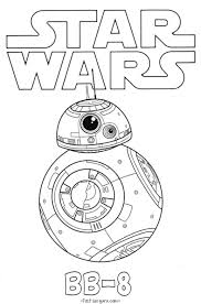star wars force awakens bb 8 coloring pages coloring
